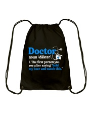 Great Doctors Drawstring Bag thumbnail