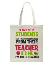 Great Teachers Tote Bag thumbnail