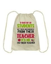 Great Teachers Drawstring Bag thumbnail