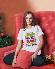 Great Teachers Ladies T-Shirt lifestyle-holiday-womenscrewneck-front-2