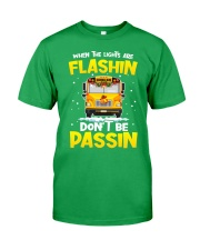School Bus Driver Classic T-Shirt front