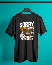 Great Shirt for Occupational Therapist Classic T-Shirt lifestyle-mens-crewneck-front-3