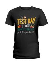 test day Ladies T-Shirt thumbnail