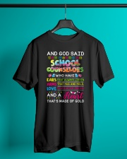 Great Shirt for School Counselors Classic T-Shirt lifestyle-mens-crewneck-front-3