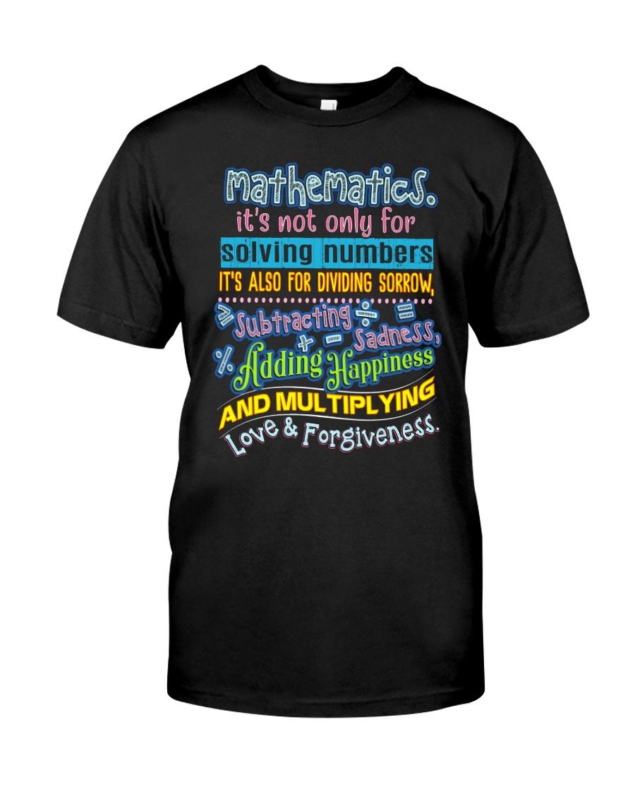 Great Shirt for math teachers Classic T-Shirt