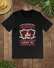 Great Shirt for Occupational Therapist Classic T-Shirt lifestyle-mens-crewneck-front-18