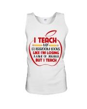 Teacher Unisex Tank thumbnail