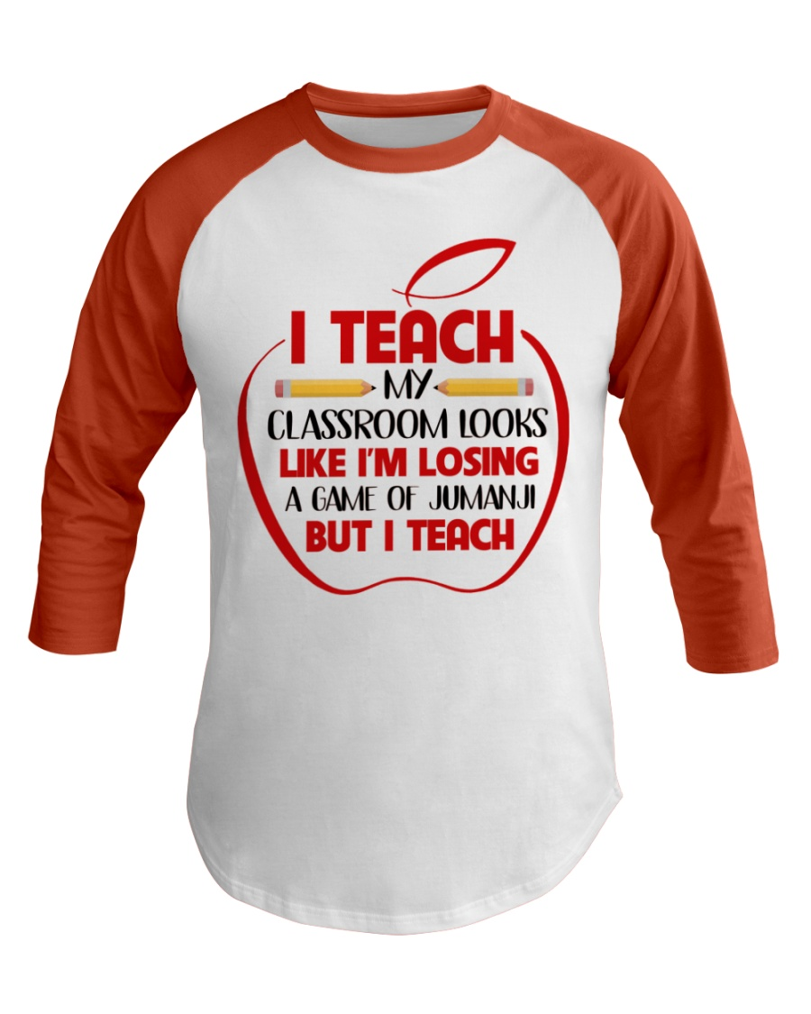 Teacher Baseball Tee