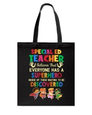 Great Shirt for SPED Teachers Tote Bag thumbnail
