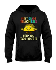 Great Shirt for 1st Teachers Hooded Sweatshirt tile