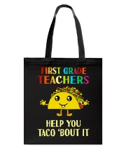Great Shirt for 1st Teachers Tote Bag tile