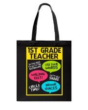 Great Shirt for First Grade Teachers Tote Bag thumbnail