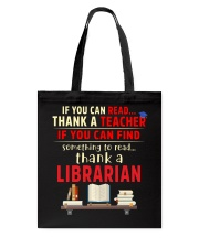 National Library Workers' Day Tote Bag thumbnail