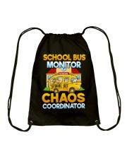 School Bus Monitor Drawstring Bag thumbnail