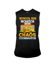 School Bus Monitor Sleeveless Tee thumbnail
