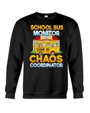 School Bus Monitor Crewneck Sweatshirt thumbnail
