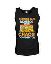 School Bus Monitor Unisex Tank thumbnail