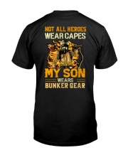 Not All Heroes Wear Capes Classic T-Shirt back