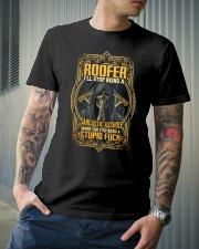 Roofer Classic T-Shirt lifestyle-mens-crewneck-front-6