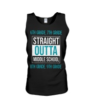 Straight outta middle school Unisex Tank thumbnail