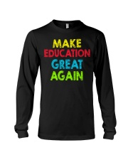 Great Shirt for Teachers Long Sleeve Tee thumbnail