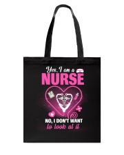 Nurse T-Shirt Tote Bag thumbnail