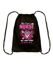 Nurse T-Shirt Drawstring Bag thumbnail