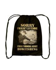 Bowfishing  Drawstring Bag thumbnail