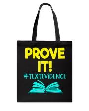 Great Shirt for Teachers Tote Bag thumbnail