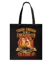 Firefighter Tote Bag thumbnail