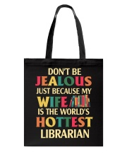 librarian's husband Tote Bag thumbnail