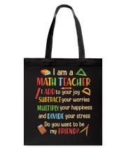 Great Shirt for Math Teachers Tote Bag thumbnail