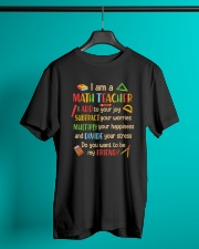 Great Shirt for Math Teachers Classic T-Shirt lifestyle-mens-crewneck-front-3
