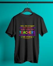 Teacher's best T-Shirt Classic T-Shirt lifestyle-mens-crewneck-front-3