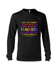 Teacher's best T-Shirt Long Sleeve Tee thumbnail