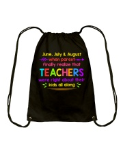 Teacher's best T-Shirt Drawstring Bag thumbnail