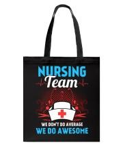 Nursing Team Tote Bag thumbnail