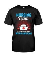 Nursing Team Classic T-Shirt front