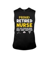 Retired Nurse Sleeveless Tee thumbnail