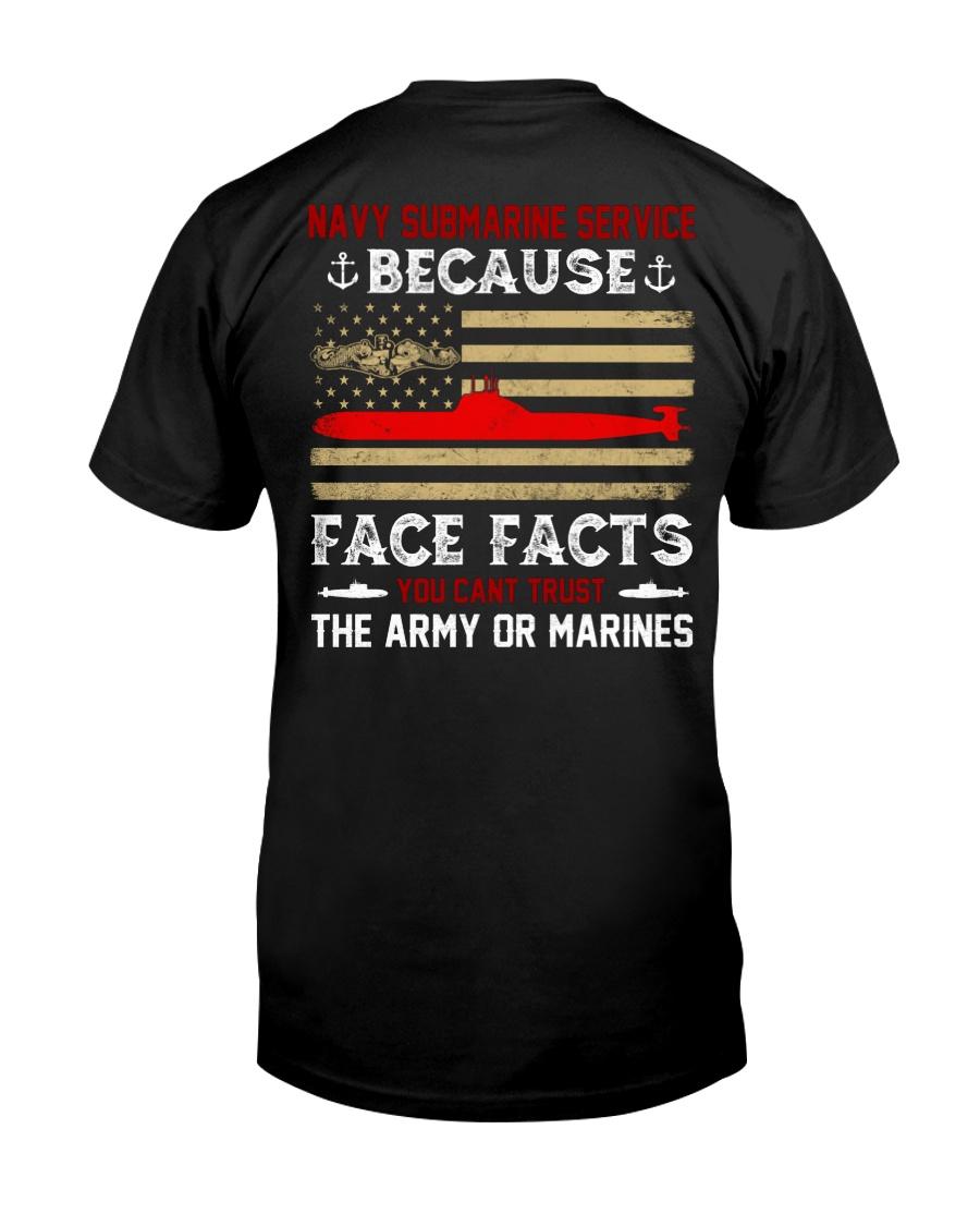 Navy Submarine Service Classic T-Shirt