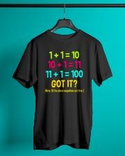 Great Shirt for math teachers Classic T-Shirt lifestyle-mens-crewneck-front-3