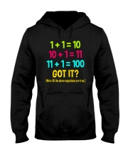 Great Shirt for math teachers Hooded Sweatshirt thumbnail