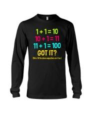 Great Shirt for math teachers Long Sleeve Tee thumbnail