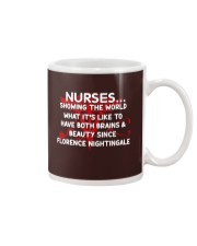 Nurse showing the world Mug thumbnail
