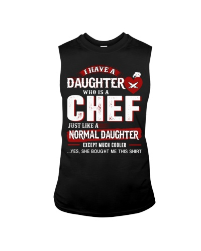 I have a daughter who is a chef