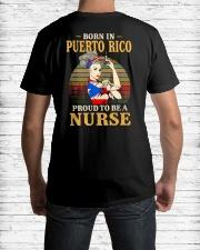 Puerto Rico Nurse Classic T-Shirt lifestyle-mens-crewneck-back-1