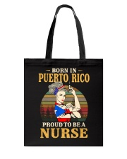 Puerto Rico Nurse Tote Bag thumbnail