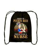 Puerto Rico Nurse Drawstring Bag thumbnail