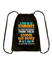 Bus Driver Drawstring Bag thumbnail