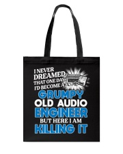 Great Audio Engineer Tote Bag thumbnail